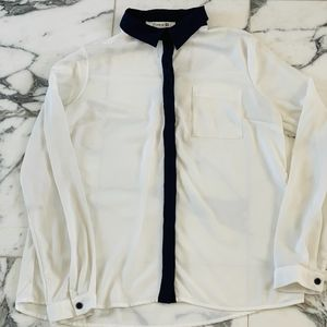 Women's Forever 21 Dress Shirt Sz M